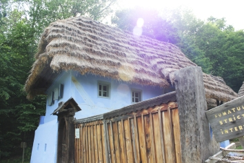 Old romanian house