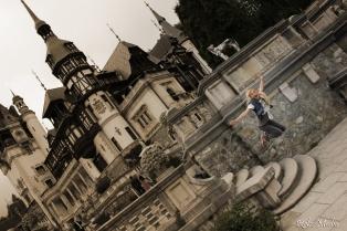 Peles Castle Jump