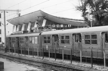 Romanian train station