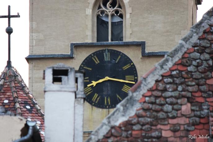 Sibiu tower clock